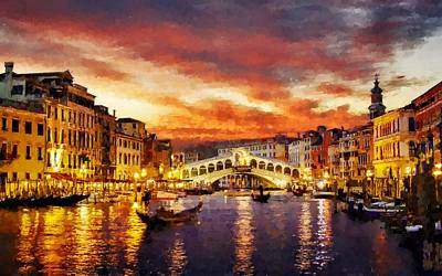 Digital Art -  Venice by MS  Fineart Creations