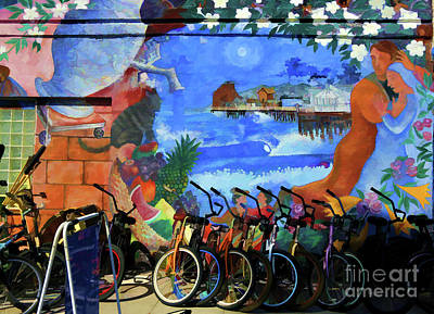 Photograph - Venice Mural Color Paint California  by Chuck Kuhn