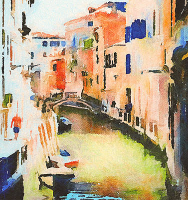 Digital Art - Venice On Waters by Yury Malkov