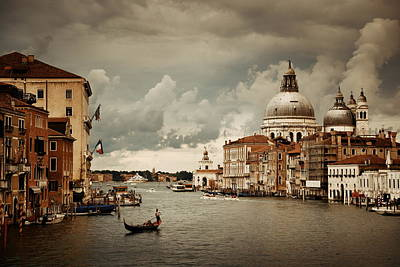 Photograph - Venice Overcast Day by Songquan Deng