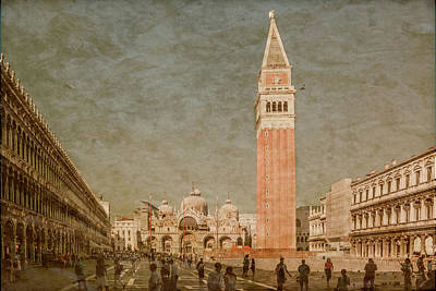 Photograph - Venice, Italy - Piazza San Marco by Mark Forte