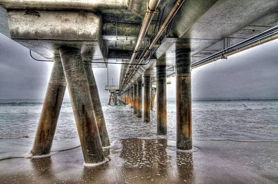 Photograph - Venice Pier Industrial by Richard Omura