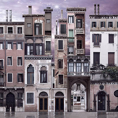 Venice Reconstruction 1 Art Print