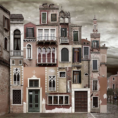 Venice Reconstruction 2 Art Print