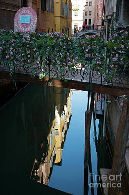 Photograph - Venice Reflections by Louise Fahy