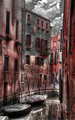 Photograph - Venice Remastered by Greg Sharpe