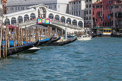 Venice Rialto Bridge Art Print