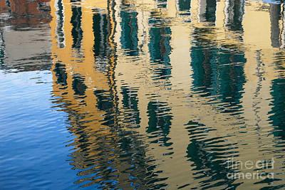Photograph - Venetian Reflections by Anna Shutt