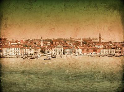 Photograph - Venice, Italy - Riva Degli Schiavoni by Mark Forte