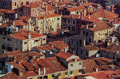 Photograph - Venice Rooftops by David Halperin
