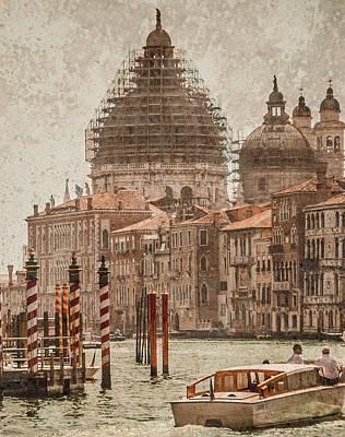 Photograph - Venice, Italy - Santa Maria Della Salute by Mark Forte