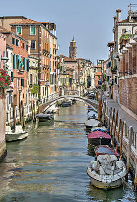 Photograph - Venice Scene by Alan Toepfer