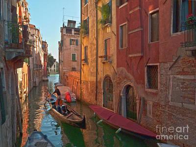 Venedig Photograph - Venice Sentimental Journey by Heiko Koehrer-Wagner