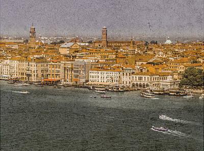 Photograph - Venice, Italy - Skyline Toward Mestre by Mark Forte