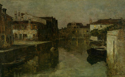 Venice Sleeping Art Print by Bartolomeo Bezzi