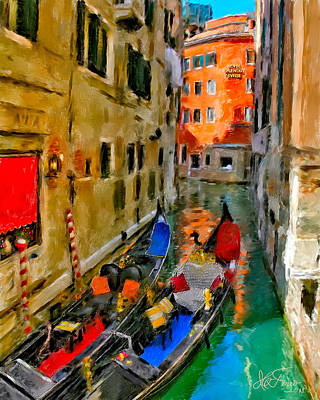 Art Print featuring the photograph Venice. Splendid Svisse by Juan Carlos Ferro Duque