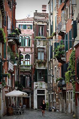Venice Street Print by Patrick English