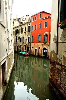 Photograph - Venice Street Scene 3 by Richard Ortolano