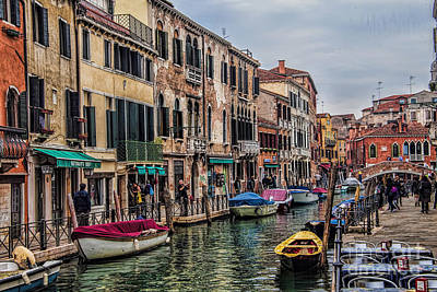Photograph - Venice Street Scenes by Shirley Mangini