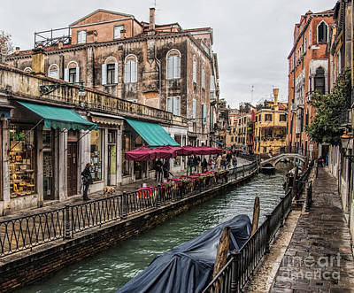 Photograph - Venice 'streets' by Shirley Mangini