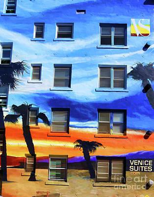 Photograph - Venice Suite Exterior Architecture  by Chuck Kuhn