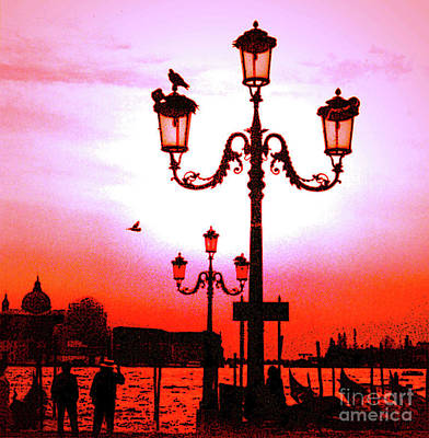 Photograph - Venice Sunset by Elizabeth Hoskinson