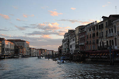 Photograph - Venice Sunset by Robert Moss