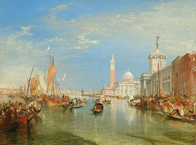 Painting - Venice, The Dogana And San Giorgio Maggiore by William Turner