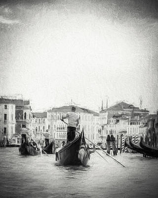 Photograph - Venice Transportation by Kathleen Scanlan