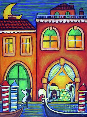 Painting - Venice Valentine II by Lisa  Lorenz
