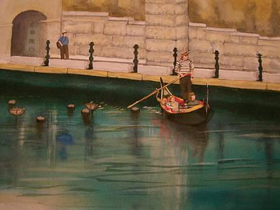 Venice Via Providence Art Print