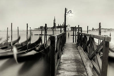 Photograph - Venice View by Andrew Soundarajan