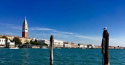 Venice View From Dorsoduro Art Print by Marina Usmanskaya
