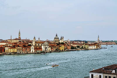 Photograph - Venice Waterway by Kay Brewer