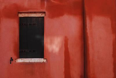 Photograph - Venetian Window by Anna Shutt