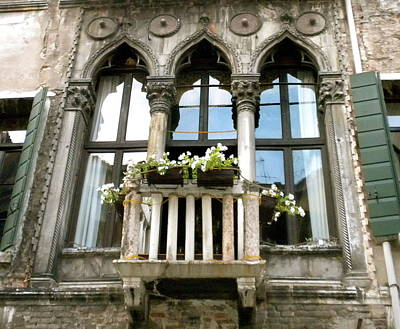 Photograph - Venice Windowscape by Teresa Tilley