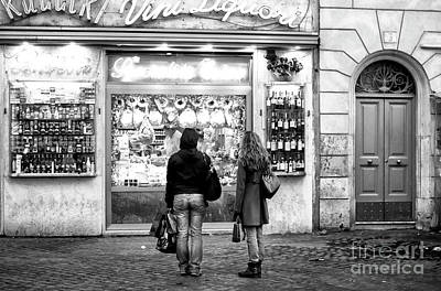 Photograph - Venice Wine Choices by John Rizzuto