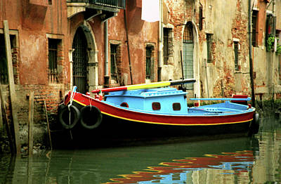Photograph - Venice Workboat 2 by David Gilbert