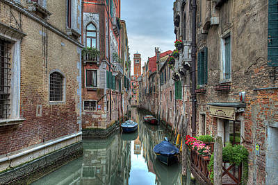 Photograph - Venetian Morning by Peter Kennett