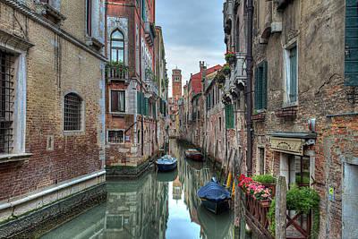 Photograph - Venetian Morning by Peter Kennett