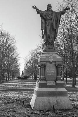 Photograph - Venite Ad Me Omnes At University Of Notre Dame  by John McGraw
