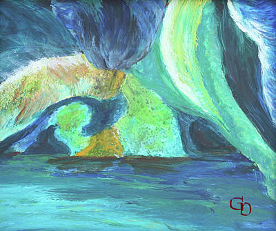 Painting - Vensoog- Hidden Lake #1 by Gail Daley