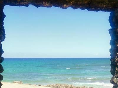 Photograph - Ventana Al Mar En Camuy by Walter Rivera Santos