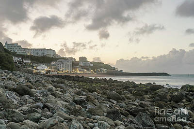 Photograph - Ventnor Coast by Clayton Bastiani