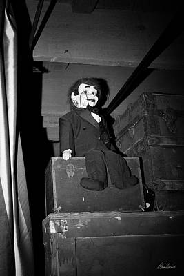 Photograph - Ventriloquist Dummy by Diana Haronis