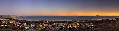 Ventura, Anacapa And Santa Cruz Islands Hdr Art Print