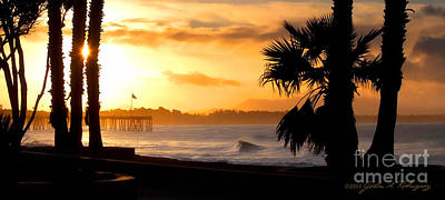 Photograph - Ventura California Sunrise by John A Rodriguez