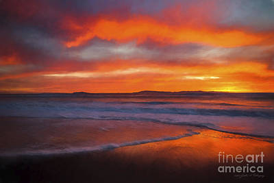 Photograph - Ventura, California Sunset by John A Rodriguez