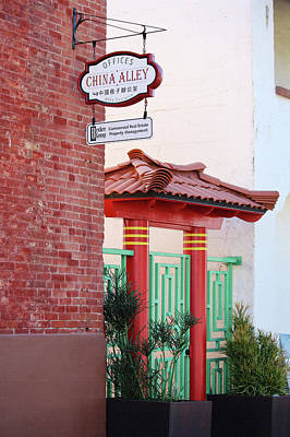 Photograph - Ventura Chinatown Gate by Art Block Collections