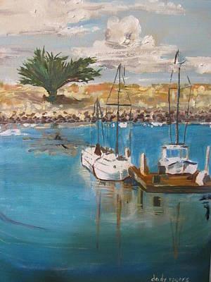 Painting - Ventura Marina by Dody Rogers